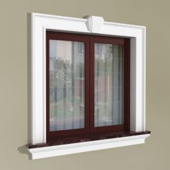Fensterumrandung Außen – Klassisches Set ZKL1
