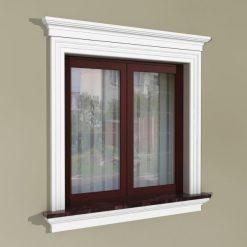 Fensterumrandung Außen – Herrschaftliches Set ZD2