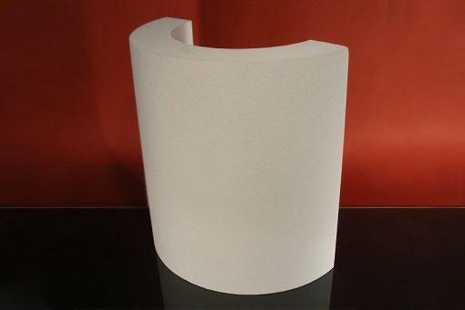 Halbschalen für einfache Säule TK-3/400