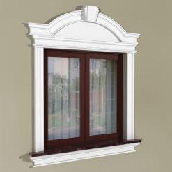 Fensterumrandung Außen – Herrschaftliches Set ZD1