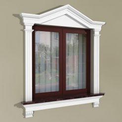 Fensterumrandung Außen – Herrschaftliches Set ZD3