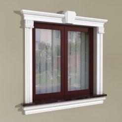 Fensterumrandung Außen – Klassisches Set ZKL4