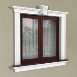 Fensterumrandung Außen – Klassisches Set ZKL3