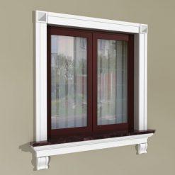 Fensterumrandung Außen – Rustikales Set ZR2