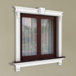 Fensterumrandung Außen – Herrschaftliches Set ZD4